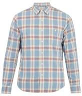 Faherty Seaview plaid cotton-flannel shirt