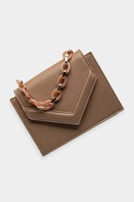 francesca's Kierra Small Envelope Crossbody - Natural