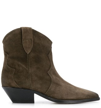 Isabel Marant Pointed Slip-On Boots