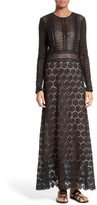 Theory Women's Rabella Daisy Lace Maxi Dress