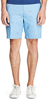 Polo Ralph Lauren Fish-Embroidered Classic-Fit Stretch Twill Shorts
