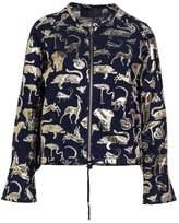 Stine Goya GIULIA ANIMAUX Summer jacket night