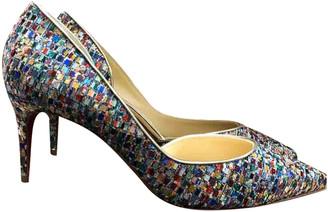 Christian Louboutin Iriza Multicolour Glitter Heels