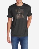 Eddie Bauer Men's Graphic T-Shirt - Gone Fishing