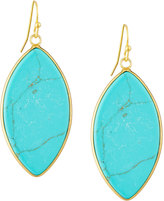 Panacea Marquise Drop Earrings, Turquoise