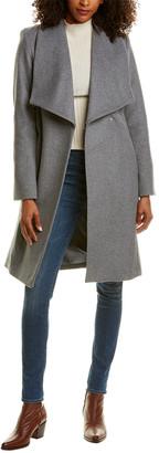 Cole Haan Medium Wool-Blend Coat