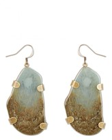 Jaeger Resin Stone Effect Earrings