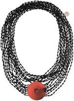 Maria Calderara layered short necklace