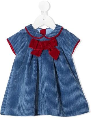 Mi Mi Sol Bow Detail Corduroy Dress