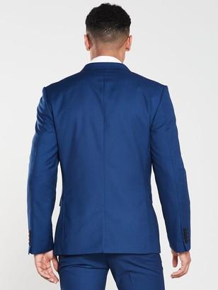 Very Slim Suit Jacket - Blue