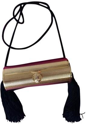 Fendi Gold Metal Clutch bags