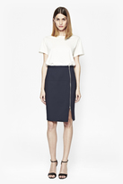 French Connection Gazelle Zip Pencil Skirt