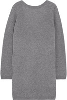 Equipment Baxley Cashmere Mini Dress - Gray