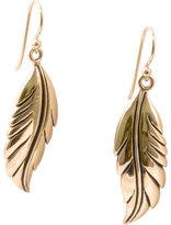 Barse Women's Bronze Feather Earring JUBIE12BRZ