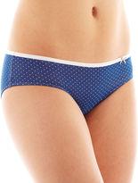 JCPenney Flirtitude Cotton Hipster Panty