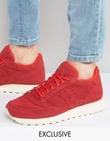 Saucony Jazz Sneakers In Red S70246-1 Exclusive to ASOS