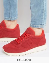 Saucony Jazz Trainers In Red S70246-1 Exclusive To Asos