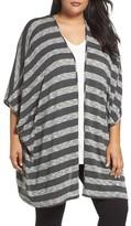 Tart Plus Size Women's Alania Stripe Cardigan