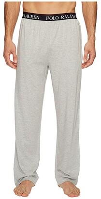 Polo Ralph Lauren Supreme Comfort Knit PJ Pants (Andover Heather/Red Pony Player) Men's Pajama