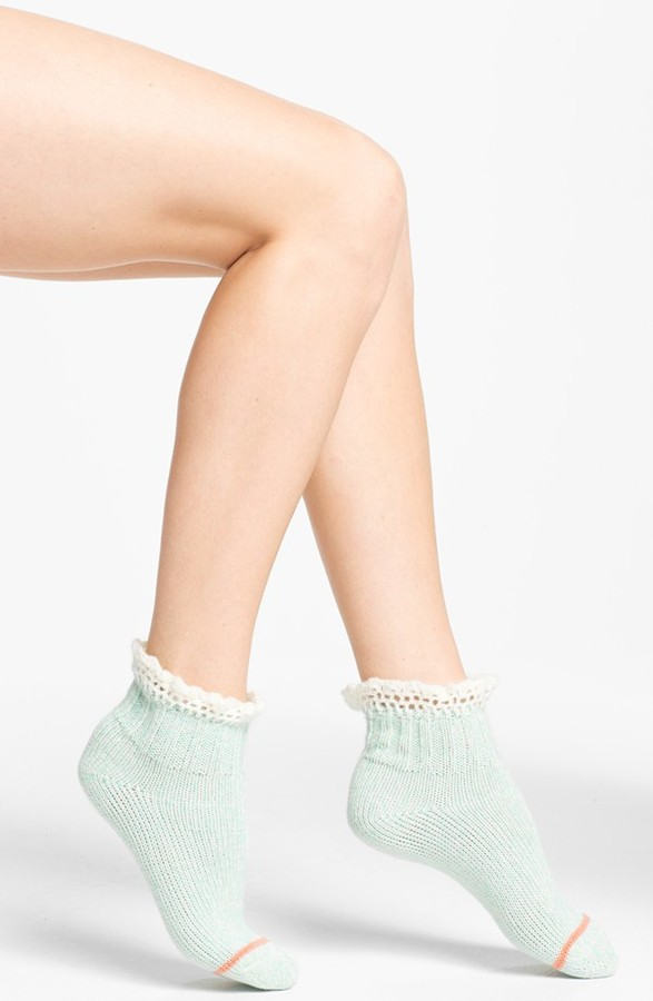 Free People 'Highland' Ankle Socks