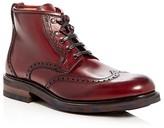 Salvatore Ferragamo Giasone Brogue Wingtip Boots