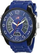 U.S. Polo Assn. Sport Men's US9486 Analog-Digital Display Analog Quartz Watch