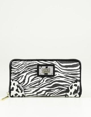 Class Roberto Cavalli Women's White / Black Wallet