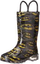 Western Chief Kids Batman Light-Up Rain Boots