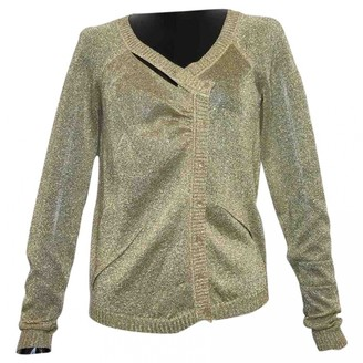 Christian Dior Gold Synthetic Knitwear