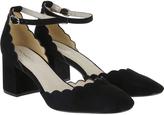 Monsoon Sasha Square Toe Two Part Court Shoes