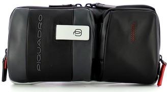Piquadro Mens Gray Belt Bag