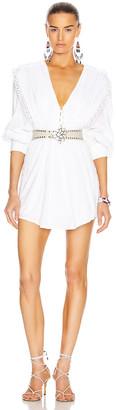 Isabel Marant Yaxo Dress in White | FWRD