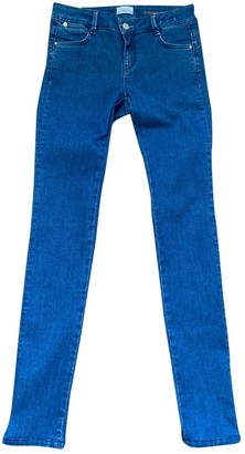 Marella Blue Cotton - elasthane Jeans for Women
