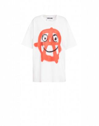Moschino Spray Print Jersey T-shirt