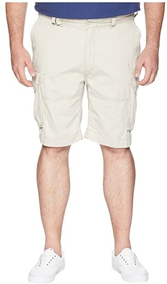 Polo Ralph Lauren Big & Tall Big Tall Vintage Chino Gellar Fatigue Shorts (Aviator Navy) Men's Shorts