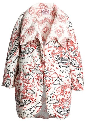 Stella McCartney Reversible We Are The Weather Cotton Padded Jacket