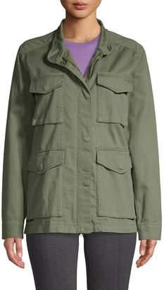 Vince Cotton Military Jacket