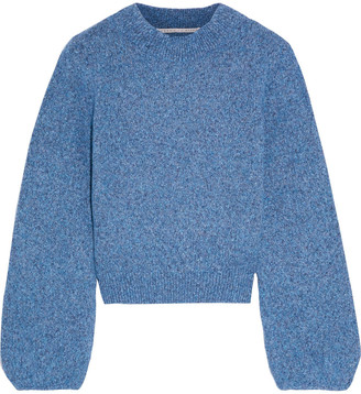 Veronica Beard Alexey Marled Knitted Sweater