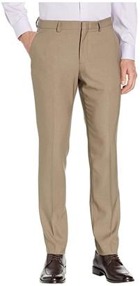 Perry Ellis Portfolio Very Slim-Fit Stretch Heathered Dress Pants (Navy) Men's Dress Pants