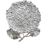 Hydrangea Large Serving Plate