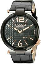 Mulco Men's MW5-3183-025 Couture Slim Analog Display Swiss Quartz Watch
