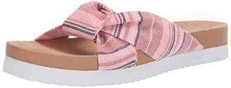 Rocket Dog Women's Loving Clair Cotton Slide Sandal
