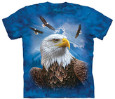 The Mountain Blue Guardian Eagle Tee - Unisex