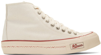 Visvim Off-White Skagway Hi Patten Sneakers