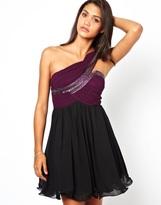 Little Mistress One Shoulder Prom Dress