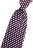 Jon vanDyk Long Neck Tie with striped/stripes pattern