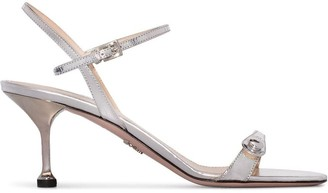Prada button-strap 65mm sandals