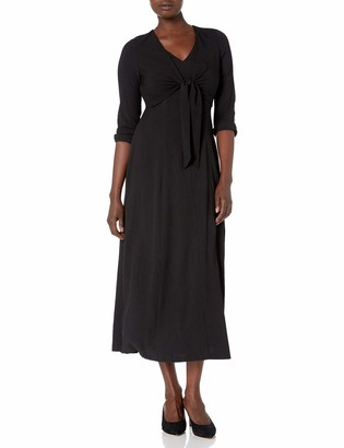 Calvin Klein Women's Maxi Dress with Tie Front