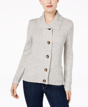 Karen Scott Button-Front Cardigan, Created for Macy's