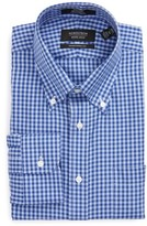 Nordstrom Men's Big & Tall Traditional Fit Non-Iron Gingham Dress Shirt